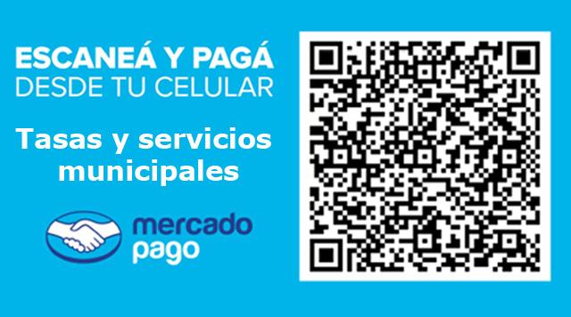 Codigo QR pago de tasas y servicios